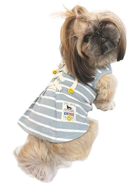 【DOG WEAR】レースアップボーダー