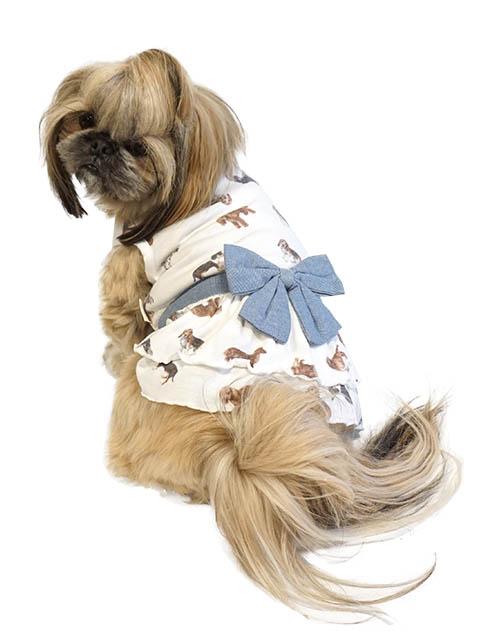【DOG WEAR】リアルドッグ総柄ペア