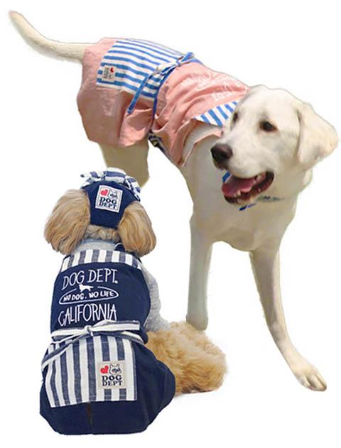 【DOG WEAR】NO DOG NO LIFE ドッグエプロン