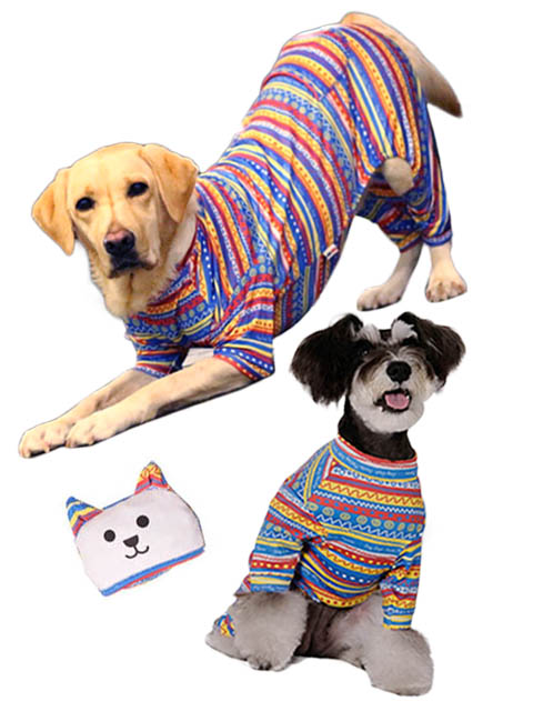 【DOG WEAR】ストレッチウォーム ロンパース