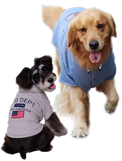 【DOG WEAR】ヘリンボーン裏毛フラッグボタンパーカー