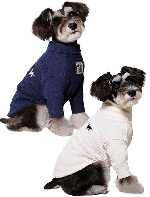 【DOG WEAR】ケーブルカットタートル