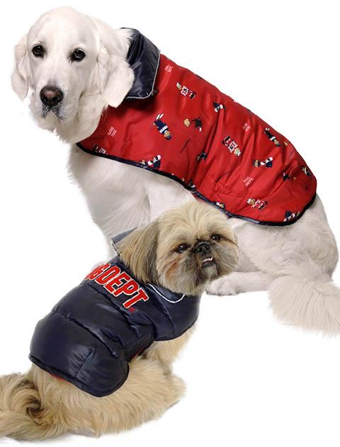 【DOG WEAR】リバーシブルファイバーダウン イージーコート
