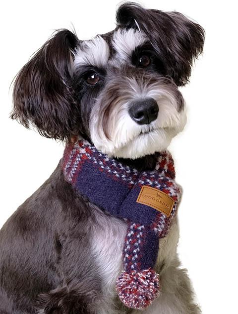 【DOG GOODS】ドッグレトロチェックマフラー