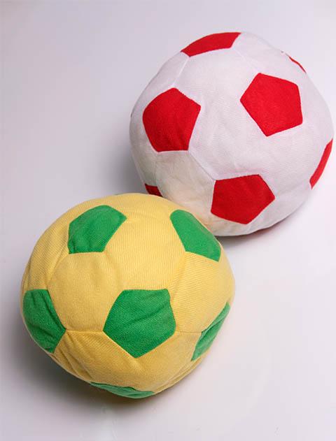 【DOG GOODS】クッションサッカーボール
