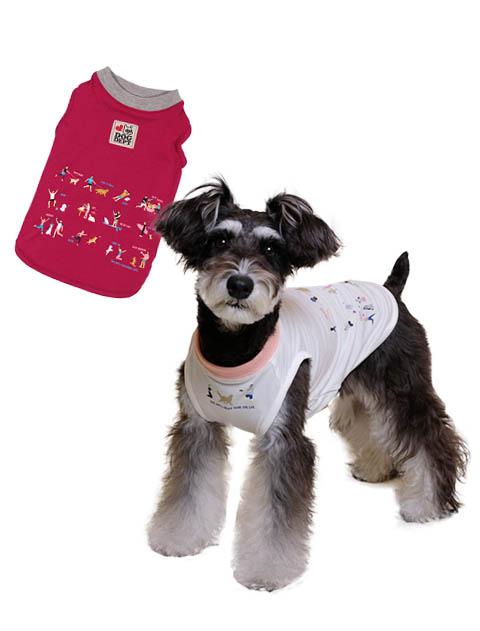 【DOG WEAR】アウトラスト ライフドッグプリントノースリーブ