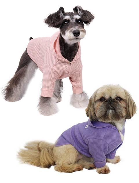 【DOG WEAR】ワッフルプルパーカー