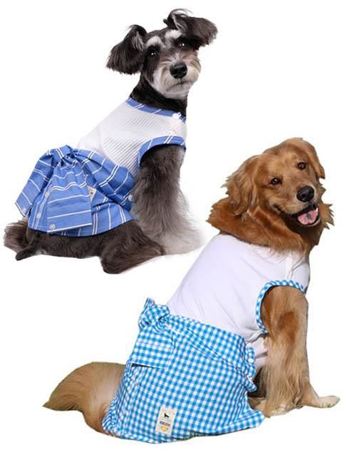 【DOG WEAR】腰巻シャツノースリーブ
