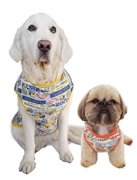 【DOG WEAR】スーパーストレッチ アメコミノースリーブ