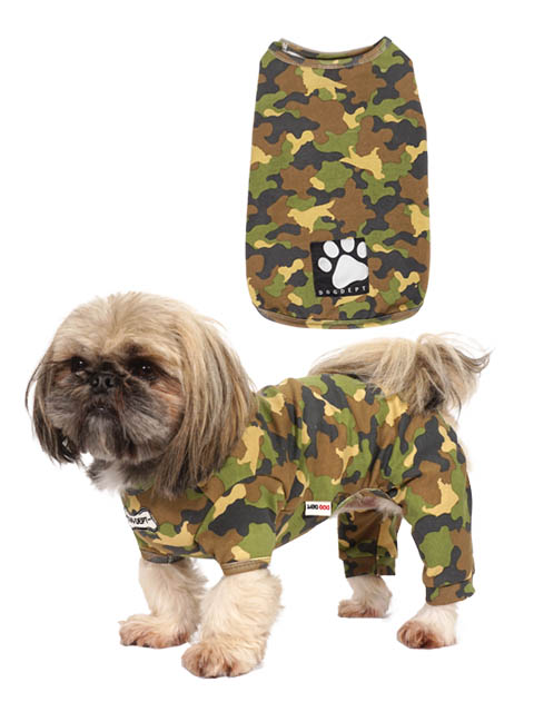 【DOG WEAR】カモフラプリント