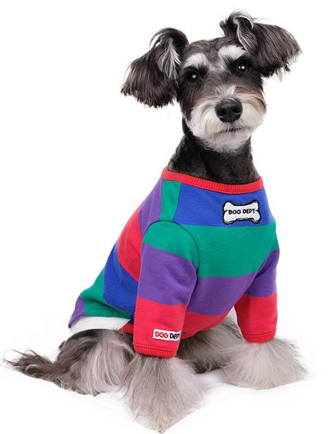 《期間限定》【DOG WEAR】ボーダーロンT