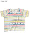 《期間限定アウトレット》【WOMEN】バティック柄Tシャツ