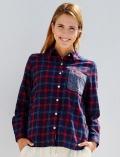 【WOMEN】ニットポケットレギュラーシャツ