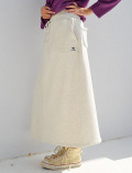 【WOMEN】裏シャギー×ニットスカート