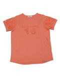 【まとめ割引対象】【WOMEN】パイルロゴクルーTシャツ