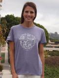 【まとめ割引対象】【WOMEN】イラストドッグ Tシャツ