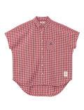 【まとめ割引対象】【WOMEN】パナマ ギンガムチェックシャツ