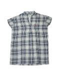 【まとめ割引対象】【WOMEN】アンサンブルチェックシャツ