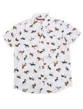 【まとめ割引対象】【WOMEN】日本製 リアルドッグシャツ