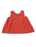 【まとめ割引対象】【WOMEN】ポプリン ノースリーブシャツ