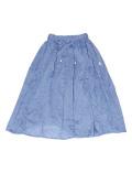 【まとめ割引対象】【WOMEN】リネンテイストスカート