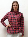 《まとめ割引対象》【WOMEN】レトロチェックB/Dシャツ