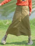 【WOMEN】ボタンスカート