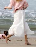【WOMEN】スラブスカート