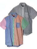 【UNISEX】クレイジーパターン半袖シャツ