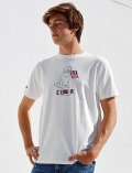 《MORE SALE対象》【UNISEX】MVS天竺フラッグドッグTシャツ