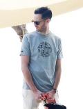 《MORE SALE対象》【UNISEX】MVS天竺ドッグフェイスTシャツ