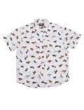 【まとめ割引対象】【UNISEX】日本製 リアルドッグB/Dシャツ