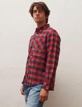 【UNISEX】R/Gチェックシャツ