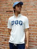 【UNISEX】DOGアップリ スタンドハーフジップ