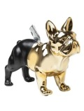 【GOODS】Money Box Bulldog Gold-Black
