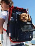 【DOG GOODS】ispack×dogdept コラボリュックキャリー