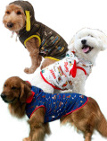 【DOG WEAR】メッシュ アメリカンロゴパーカー