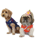 【DOG WEAR】アメリカンロゴ 浴衣 甚平