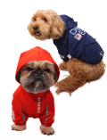【DOG WEAR】撥水ロゴジャケット