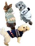【DOG WEAR】モールニット  ボタンパーカー