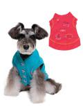 《期間限定アウトレット》【DOG WEAR】刺繍カーデ
