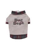 【期間限定アウトレット】【DOG WEAR】フェイクレイヤーロゴTシャツ