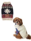 【DOG WEAR】手編みカウチン