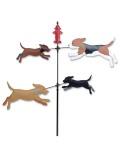 【GOODS】WindGarden Spinner Dogs 8DOGS