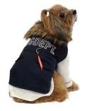 【DOG WEAR】ロゴ N3-Bコート