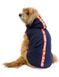 【まとめ割引対象】【DOG WEAR】ラインノースリーブパーカー