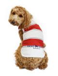 【まとめ割引対象】【DOG WEAR】スラブボーダーノースリーブ