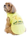 【まとめ割引対象】【DOG WEAR】カリフォルニアドッグ メッシュノースリーブ