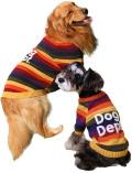 【DOG WEAR】マルチボーダーニット
