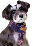 《まとめ割引対象》【DOG GOODS】ドッグレトロチェックマフラー